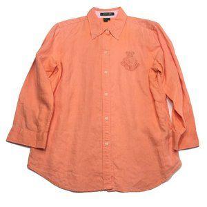 Lauren Ralph Lauren Linen Button Shirt